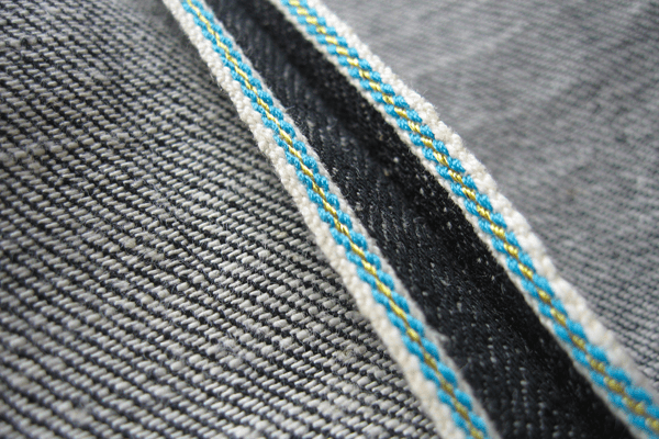 An unknown brand's Blue-Yellow Selvedge line