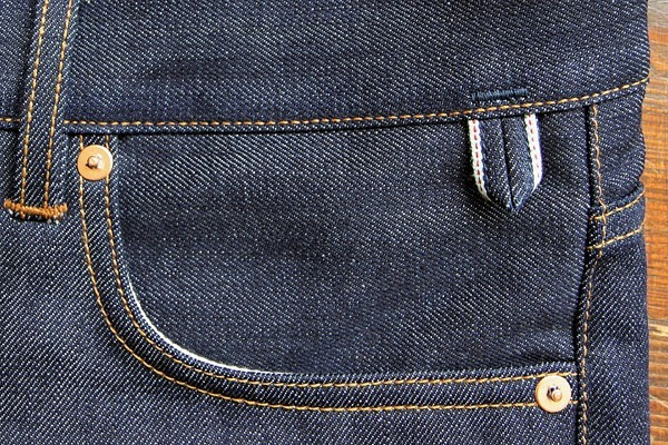 Companion Denim Selvedge Keychain Loop Detail