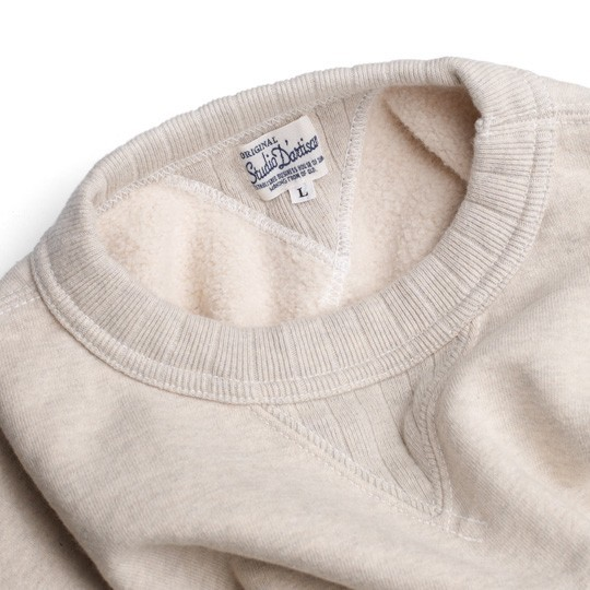 A Studio D'Artisan loopwheeled sweatshirt.