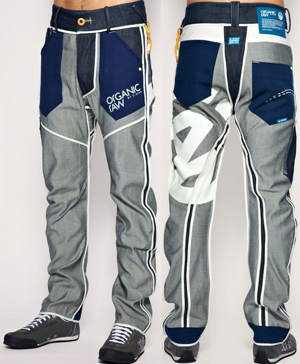 g star inside out jeans